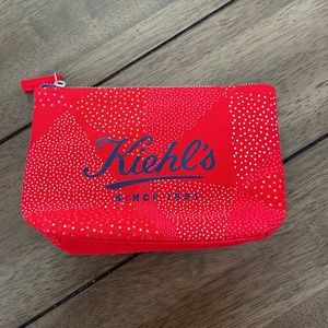 Kiehl's Limited Edition Bannecker Zippered Pouch